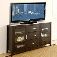247SHOPATHOME Idi-11456 Television-Stands, Espresso