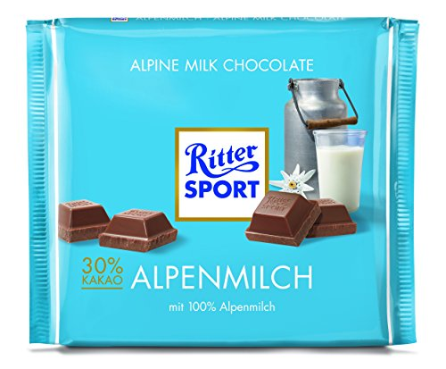 Ritter Sport Alpen-Milch, 11er Pack (11 x 250 g Packung)