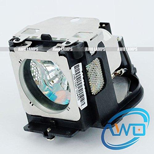 AWO 610-333-9740 / POA-LMP111 Premium Compatible Bulb with Housing for SANYO PLC-WXU30, PLC-WXU3ST, PLC-WXU700, PLC-XE50,PLC-XK460, PLC-XL50, PLC-XL51, PLC-XU101, PLC-XU105,PLC-XK450,PLC-XU106 -