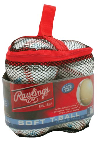 Ball Value Pack (Rawlings Soft T-Ball 6-Ball Value Pack)