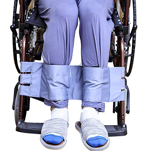 Fushida Wheelchair Foot Support Belt-Medical Legs Fixed Belt-Good Cloth Legs Belt for Disabled People Use
