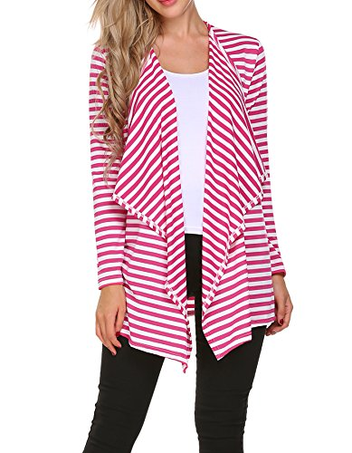 Black And White Striped Jacket - 8