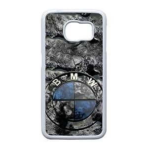 Generic hard plastic Bayerische Motoren Werke AG Logo Cell Phone Case for Samsung Galaxy S6 Edge White ABC83