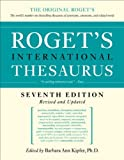 Roget's International Thesaurus, Barbara Ann Kipfer, 0061715212