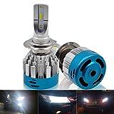 H7 LED Headlight Bulb Kit - Kashine Auto LED Conversion Kit 6500K 8000LM