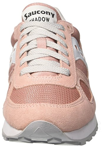 Saucony Shadow Original W, Zapatillas de Running Para Mujer Multicolore (Rose/Grey 679)