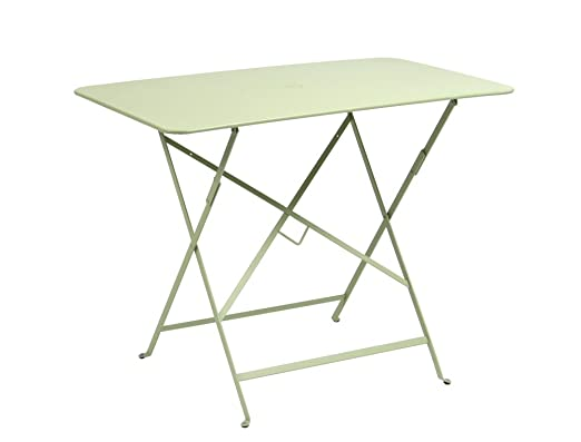Fermob mesa rectangular plegable cm. 117 x X77 de acero color ...