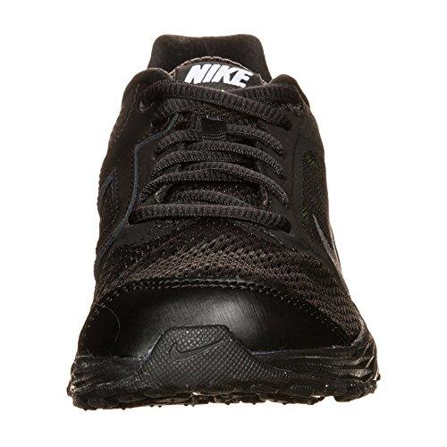 Nike Tri Fusion Run (Gs), Zapatillas de Running Para Niños Negro / Plateado / Verde (Black / Metallic Silver-Volt)
