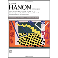 Junior Hanon (Alfred Masterwork Edition) book cover