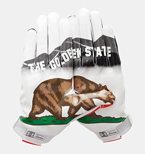 Under Armour Swarm II Football Gloves - Pipeline State Pack Limited Edition - California (XL) ()