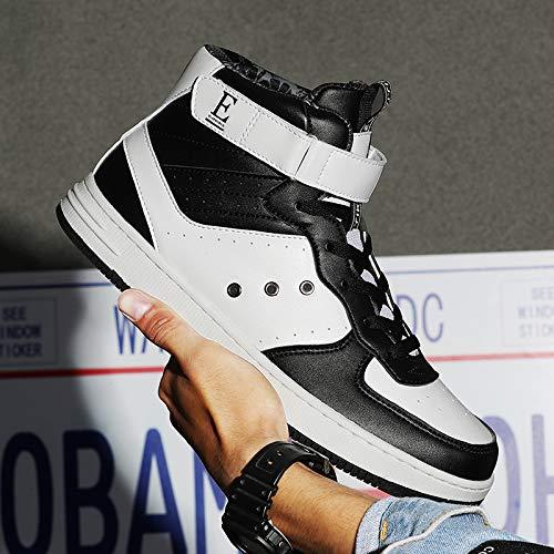 Unisex Hi Top Teenager per Scarpe 1 Adulti da VITIKE Basket nero Scarpe Uomo Sneaker vHnIqUw