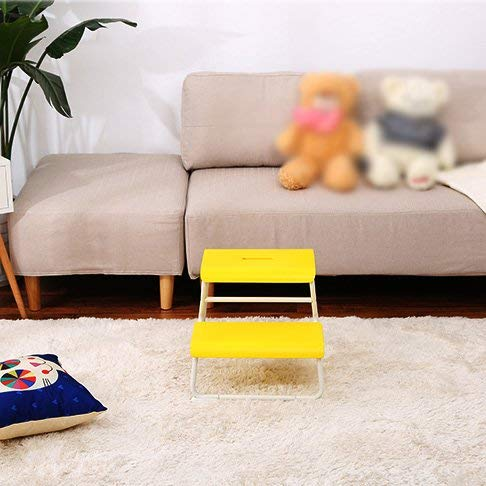 JZX Step Stool, Solid Wood Footstool, Multi-Purpose shoes Bench