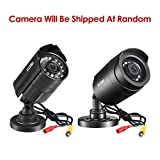 ZOSI 1.0 Megapixel HD 720P 4 in 1 TVI/CVI/AHD/CVBS Security Cameras Day Night Waterproof Camera 65ft IR Distance,Compatible for HD-TVI, AHD, CVI, and CVBS/960H analog DVR