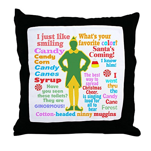 CafePress Elf Movie Quotes - Decor Throw Pillow (18''x18'') by CafePress
