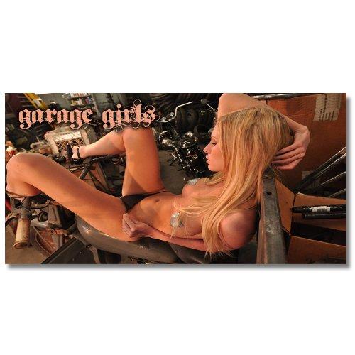 Edgewraps 2' x 4' Garage Girls #1 Banner for sale.