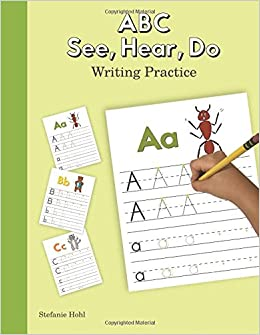 Amazon com: ABC See, Hear, Do Writing Practice