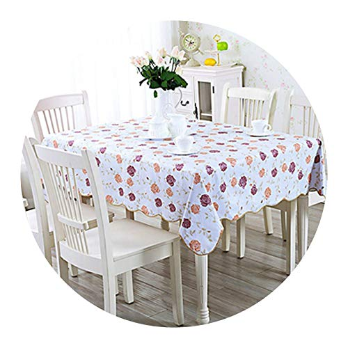 Stree Corner-home Oil Proof Tea Table Cloth Country Style Hotel,9,106x152cm
