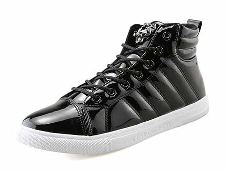 Hombres Cima Mas Alta Zapatillas 2017 Otoño Nuevo Casual Moda Pisos Zapatos Ligero Corriendo Zapatos (