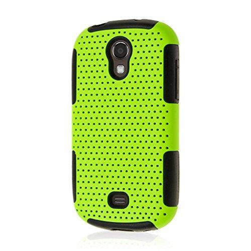 Galaxy Light Case, MPERO FUSION M Series Protective Case for Samsung Galaxy Light - Neon Green