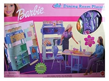 barbie dining room playset amazon co uk toys games rh amazon co uk barbie dining room barbie dining room