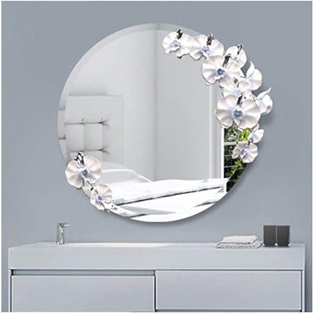Miroir De Salle De Bain Haute Qualite Etanche 3d Relief Miroir
