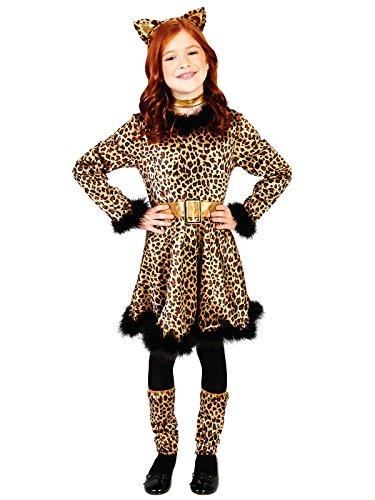Leopard Dress Child Costume Medium -
