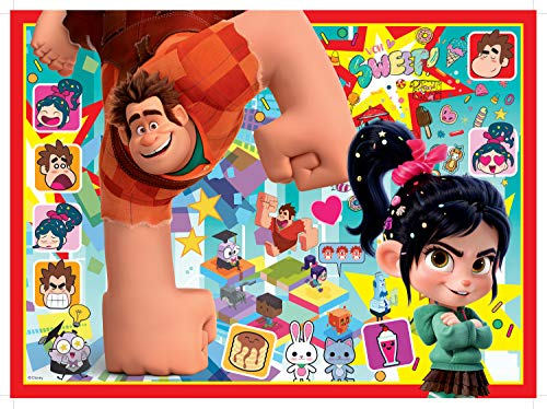 Friends Lenticular Puzzles - Ravensburger Disney Wreck it Ralph 2 150 Piece Puzzle - Every Piece is Unique, Pieces Fit Together Perfectly