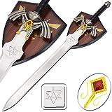 Zelda Twilight Princess Fantasy Video Game Sword & Plaque 37 1/2''