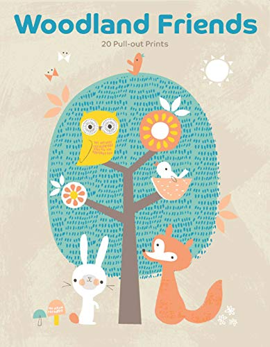 Woodland Friends: 20 Pull-out Prints