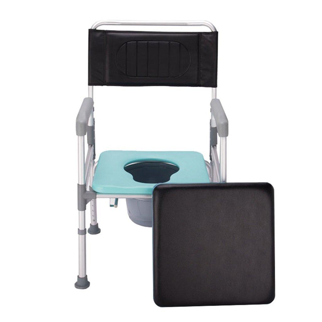 特価商品  頑丈で耐久性の高い高さ調整可能な滑り止め手すり便座折り畳み式の椅子の椅子浴室のシャワースツールポータブルアルミ合金チューブトイレチェア障害者/妊婦 B07F8S2JDH/高齢者最大150kg B07F8S2JDH, nonsence factory:e95d8dac --- arianechie.dominiotemporario.com