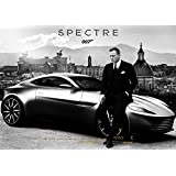 映画 007 スペクター ポスター 42x30cm 007 SPECTRE ジェームズ ボンド ダニエル・クレイグ クリストフ・ヴァルツ モニカ・ベルッチ [並行輸入品]