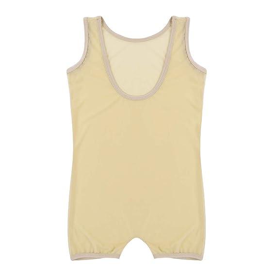 Herren Body Stringbody Stretch Boxer Shorts Unterwäsche Bodysuit Dessous M L XL