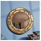 Nautical Ship Porthole Mirror Wall Decor by Fun Express