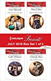 Harlequin Presents July 2016 - Box Set 1 of 2: Di Sione's Innocent Conquest\A Virgin for Vasquez\Bought by Her Italian Boss\Master of Her Innocence (The Billionaire's Legacy)