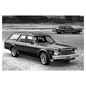1979 Dodge Aspen Station Wagon and Coupe Photo Poster
