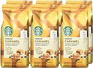 Starbucks Caramel Flavoured Ground Coffee 311 Grams (Pack Of 6), Caramel, 1866 Grams