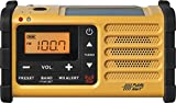 Sangean MMR-88 AM/FM/Weather+Alert Emergency Radio. Solar/Hand Crank/USB/Flashlight, Siren, Smartphone Charger
