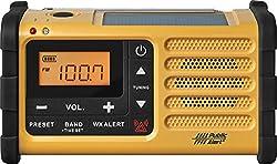 Sangean Mmr-88 Amfmweather+alert Emergency Radio. Solarhand Crankusbflashlight, Siren, Smartphone Charger