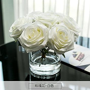 Kunstliche Fake Blumen Dekoration Esstisch Home Zubehor Silk Blume