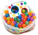 270 Wonder Invisiball w/ Toss Zone Non-Toxic Non-Recycled Crush Proof Quality Phthalates BPA & Lead Free, 6 Colors