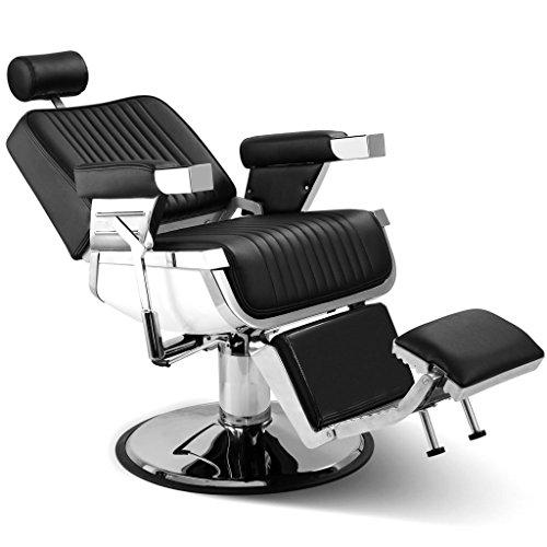 Artist Hand Heavy Duty All Purpose Hydraulic Recline Barber Chair Shampoo 360 Swivel Professional Vintage Salon Spa Chair