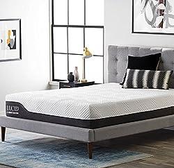 lucid 10 king hybrid customer reviews prices specs and alternatives. Black Bedroom Furniture Sets. Home Design Ideas