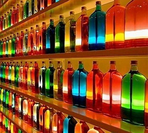 Vinus batería USB botella corcho con forma de luz, LED Gire lámpara de botella tapón de corcho, Multicolor cambiado para botella de vino la noche luces (1 unidades): Amazon.es: Iluminación