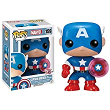 Funko Marvel Captain America with Photon Shield 75th Anniversary Pop Vinyl Figure
