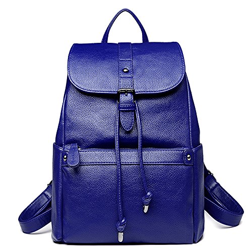 Blue Sac Mode Dames Voyage Multi Dos à ZHXUANXUAN Style à College Bandoulière Sac Casual fonction Simple Zipper a0dSw5q