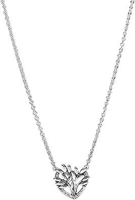 PANDORA Heart Family Tree Collier Necklace & Pendants