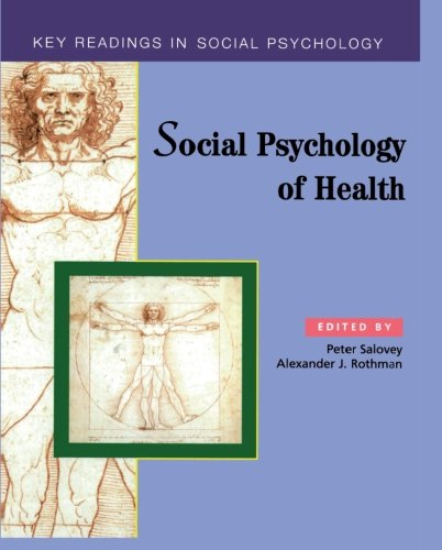 psychology of health The social psychology of health: essays and readings provides an integrative approach to understanding health psychology using social psychological principles it contains 26 readings grouped into five sections.