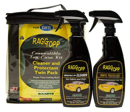 Raggtopp Convertible Top Vinyl Cleaner & Protectant Kit 16 - Cars Convertible Tops For