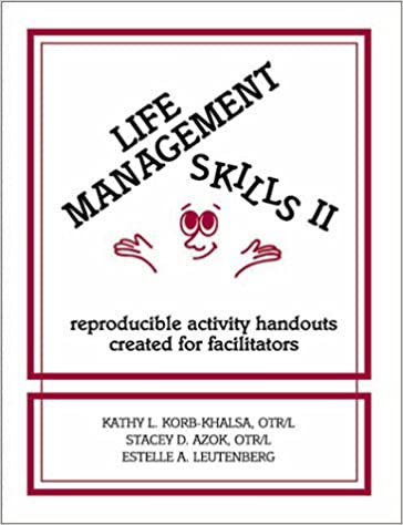 Life Management Skills II: Reproducible Activity Handouts Created ...
