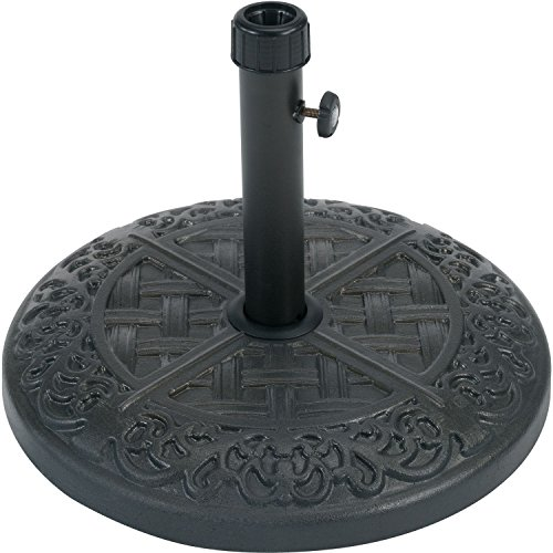Hanover Brigantine Umbrella Base Black BRIGUMBBASE